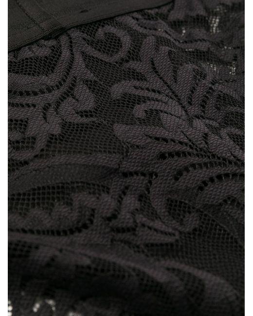 メンズ Versace グレカトリム ブリーフ Black