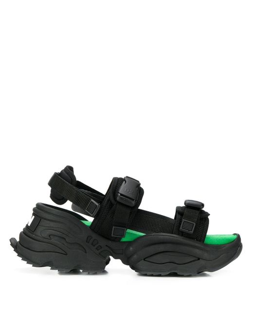 DSquared² Wedge-Sandalen in Black für Herren