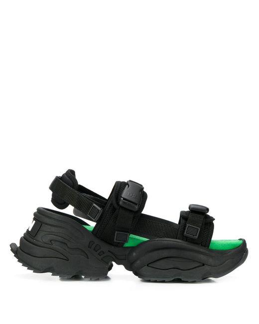 DSquared² Wedge-Sandalen in Black für Herren