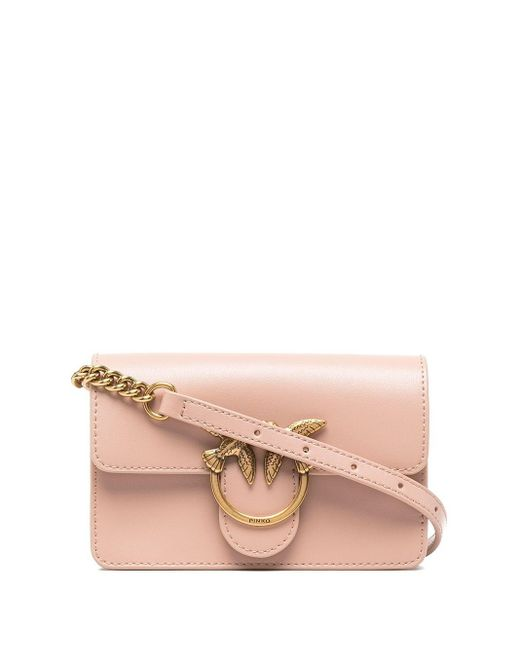 Мини-сумка Через Плечо Love Pinko, цвет: Pink