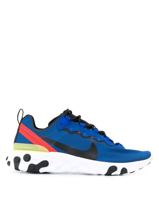 Nike React Element 55 スニーカー Blue