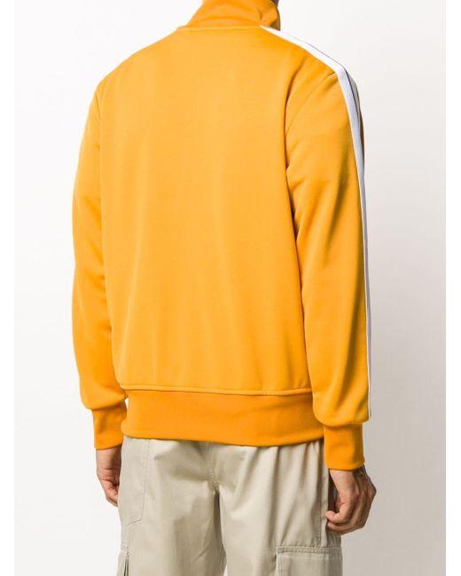 メンズ Palm Angels ジップアップ スウェットシャツ Orange