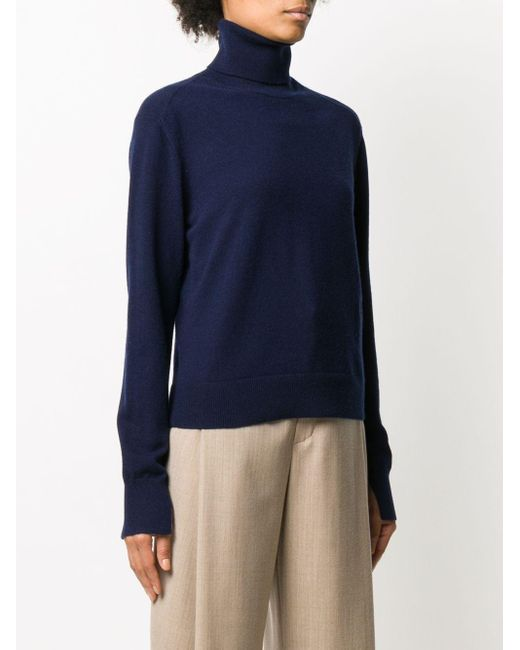 Chloé タートルネック セーター Blue