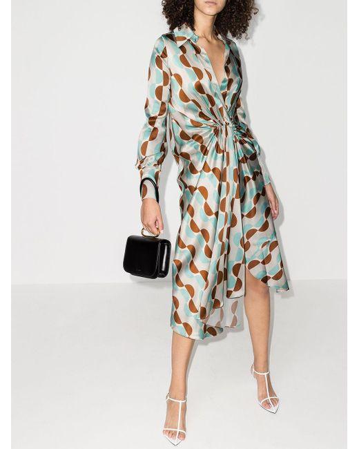Dodo Bar Or ジオメトリック ドレス Gray