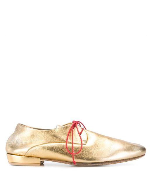 Marsèll Multicolor Metallic Brogue Shoes