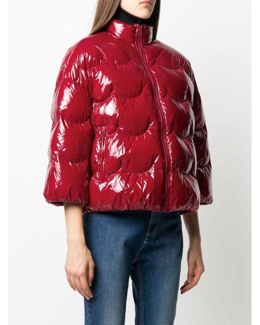 RED Valentino パデッドジャケット Red
