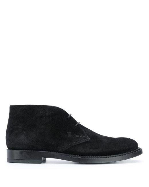 Ботинки Дезерты С Монограммой Tod's для него, цвет: Black