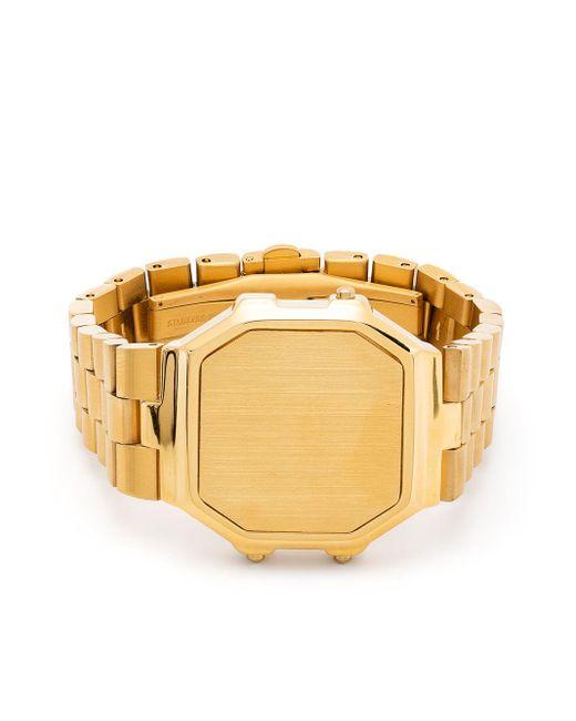 Bracciale a forma di orologio Timeless Watch di Ambush in Metallic