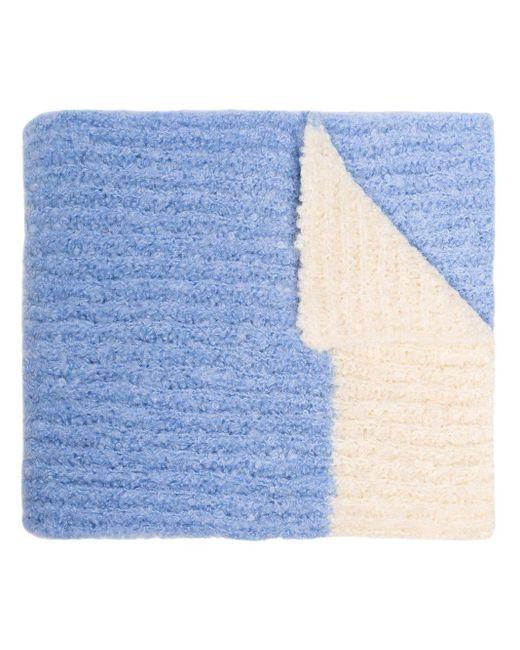 Jacquemus オーバーサイズ ニットスカーフ Blue