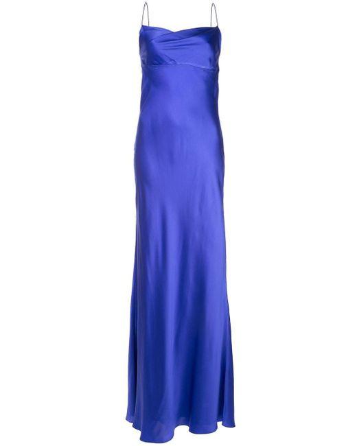 Michelle Mason カウルネック ドレス Purple