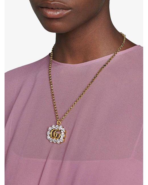 Gucci ダブルg ネックレス Multicolor