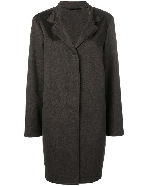 Liska シングル コート Black
