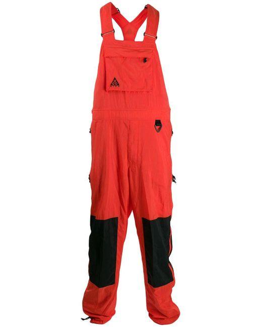 メンズ Nike M Nrg Acg オーバーオール Red