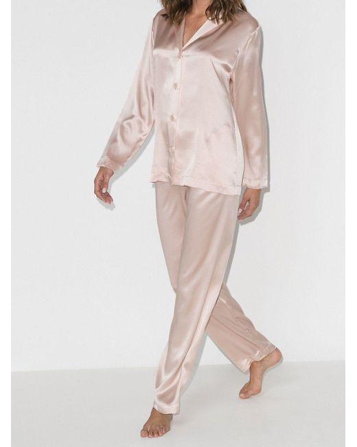 La Perla シルク パジャマ Pink