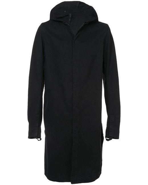 Boris Bidjan Saberi 11 - Black Long Sleeved Hooded Jacket for Men - Lyst