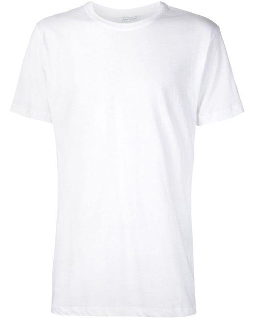メンズ John Elliott クラシック Tシャツ White