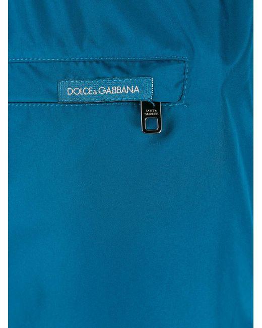 Bermudas con cordones Dolce & Gabbana de hombre de color Blue