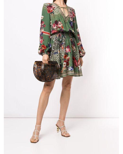Camilla プリント ドレス Multicolor