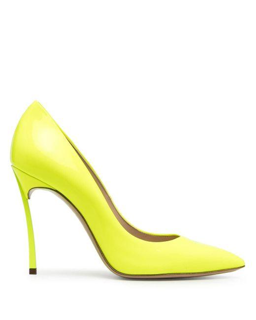 Casadei Blade パンプス Yellow