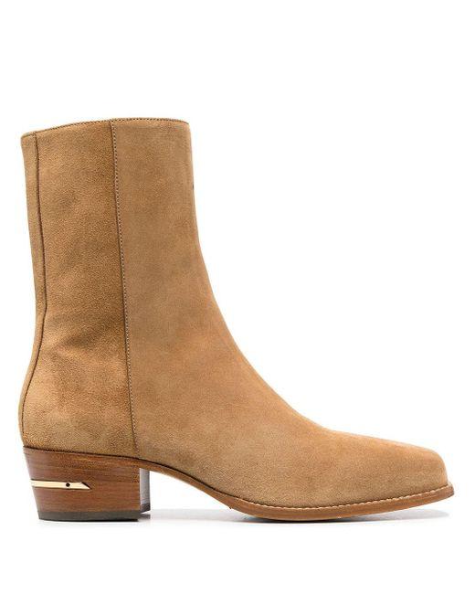 Ботинки По Щиколотку Amiri для него, цвет: Brown