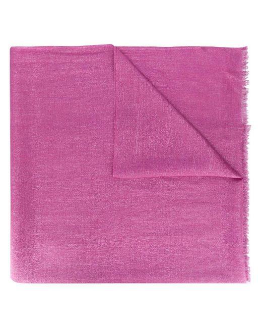 Brunello Cucinelli フリンジ スカーフ Pink