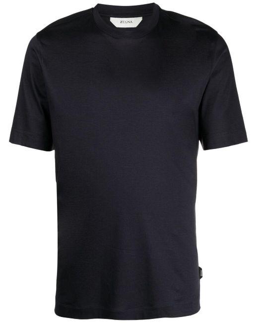 メンズ Z Zegna ショートスリーブ Tシャツ Blue