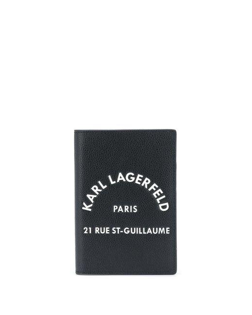 Обложка Для Паспорта Rue St Guillaume Karl Lagerfeld, цвет: Black