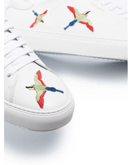メンズ Axel Arigato Birds Clean 90 レザー スニーカー White