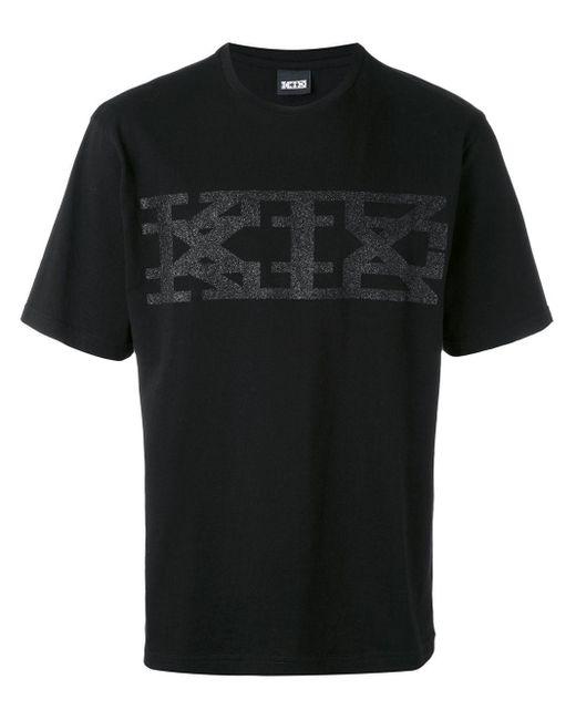 KTZ ロゴプリント Tシャツ Black