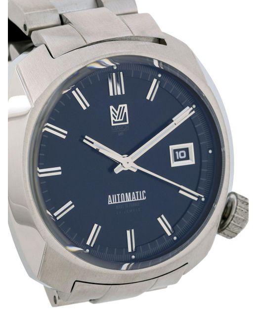 Reloj AM1 Automatic Navy de 40mm March LA.B de hombre de color Metallic