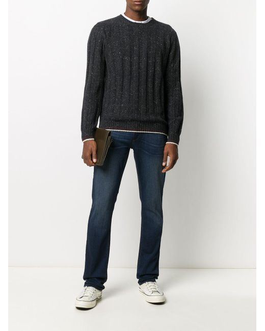 メンズ Eleventy カシミア セーター Blue