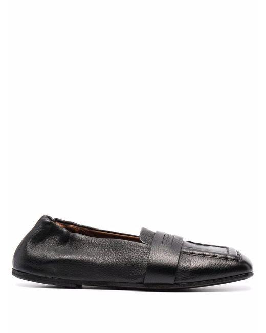 Marsèll Black Spatolona Slip-on Shoes