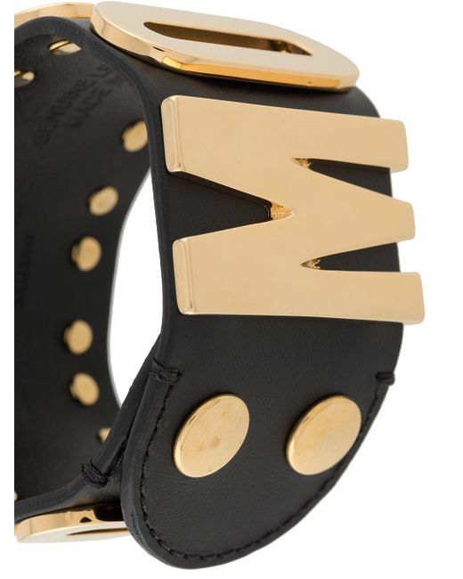 Браслет С Логотипом Moschino, цвет: Black