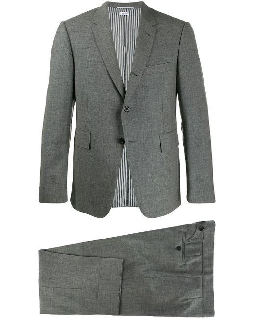 メンズ Thom Browne ツーピース スーツ Gray