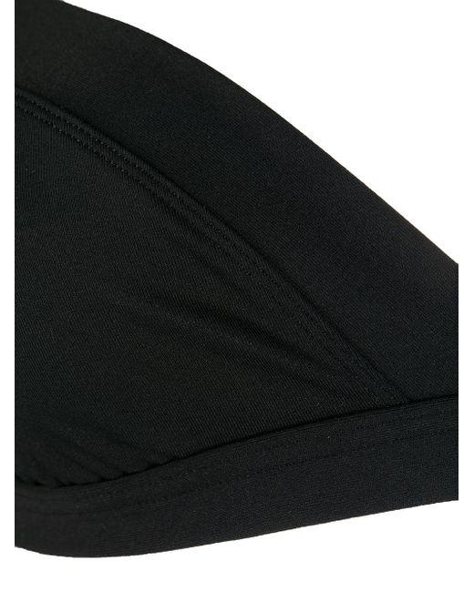 Eres Women's Black Halterneck Bikini Top