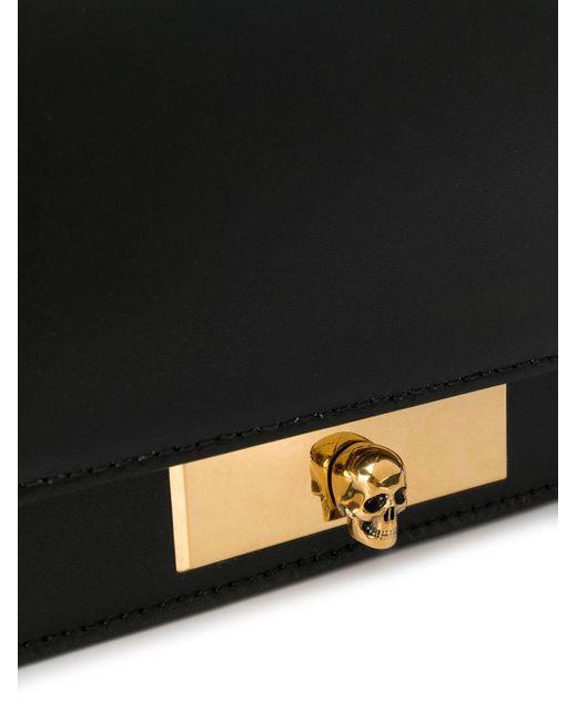Сумка Через Плечо С Декором Skull Alexander McQueen, цвет: Black