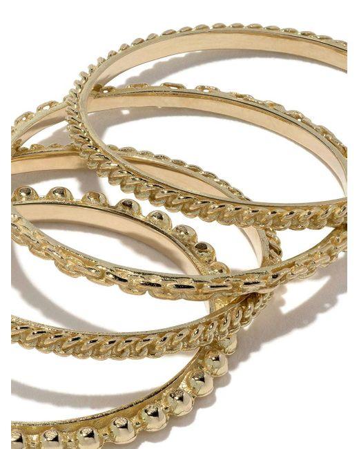 Набор Золотых Колец Wouters & Hendrix, цвет: Metallic