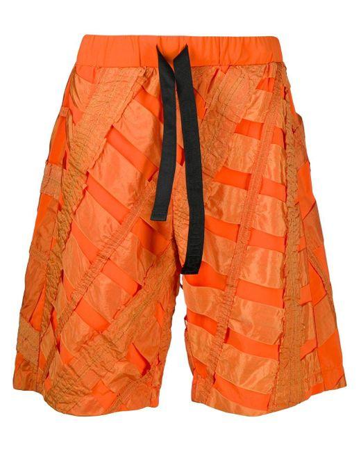 メンズ Raeburn Air Brake ショートパンツ Orange