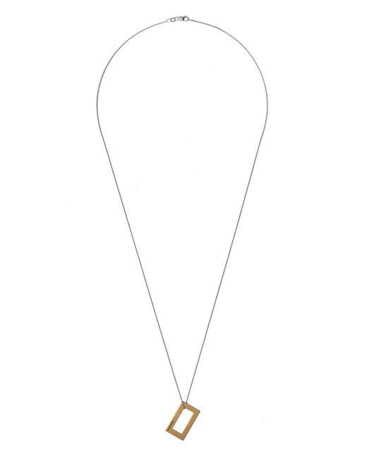 Le Gramme ペンダント ネックレス 18kイエローゴールド Metallic