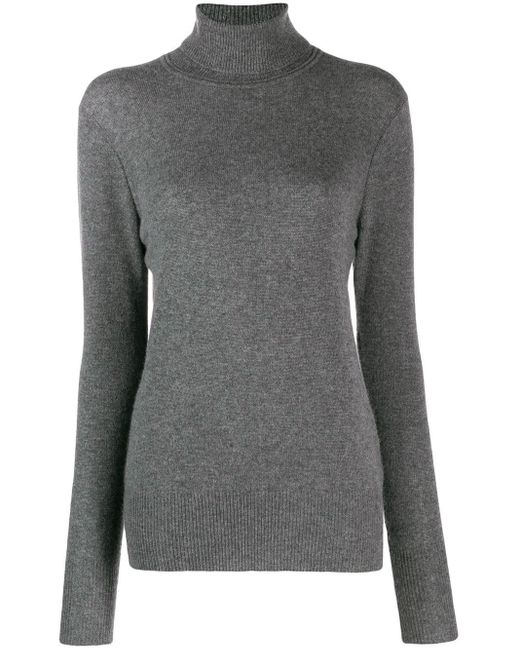 Equipment タートルネック カシミア セーター Gray