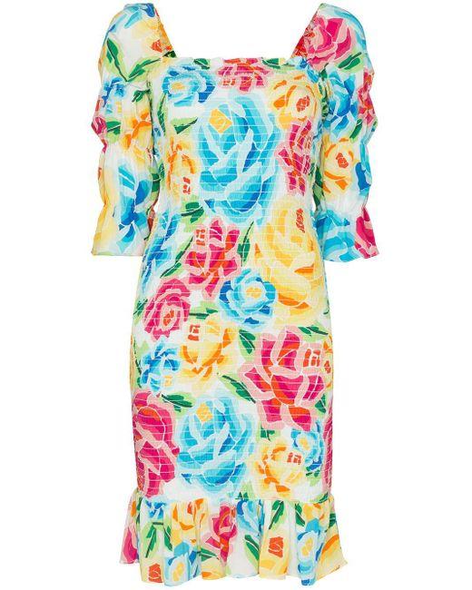 All Things Mochi Marianna フローラル ドレス Multicolor