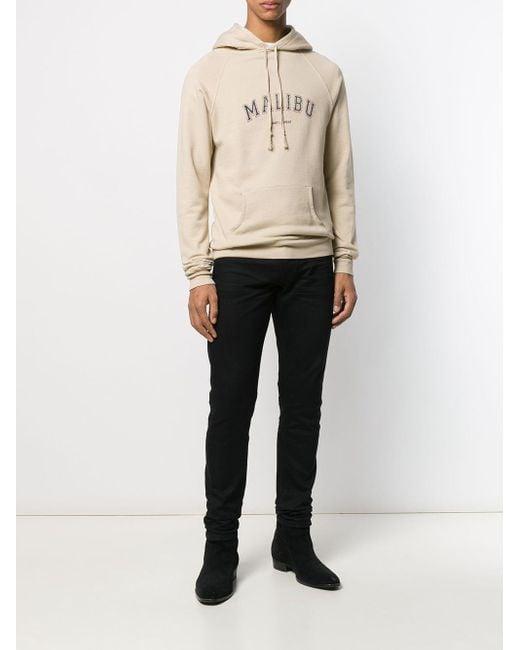 Худи Malibu Saint Laurent для него, цвет: Natural