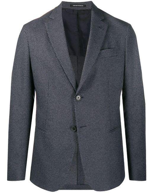メンズ Emporio Armani テーラードジャケット Gray