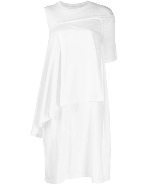 MM6 by Maison Martin Margiela レイヤード Tシャツドレス White