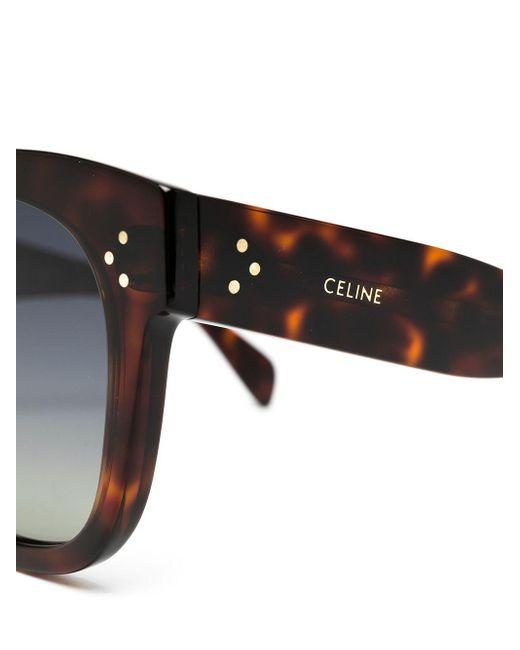Céline オーバーサイズ サングラス Multicolor