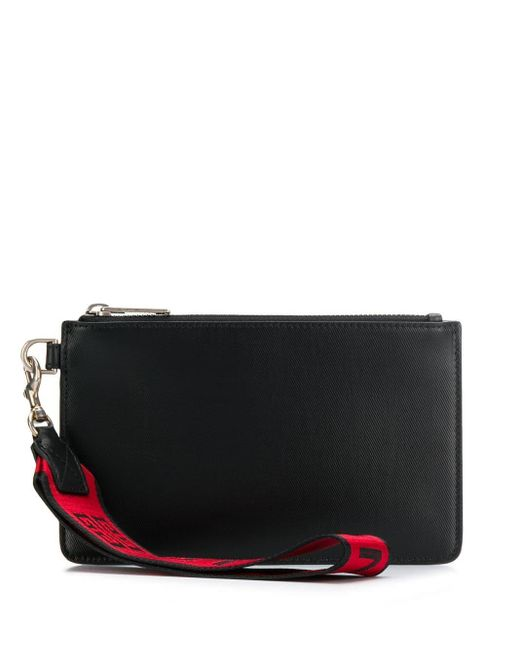 Клатч На Молнии Givenchy для него, цвет: Black