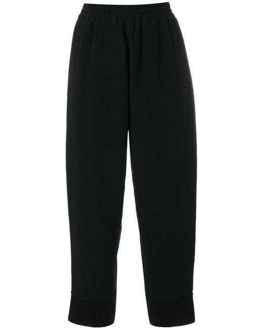 Stella McCartney   Black Cropped Trousers   Lyst