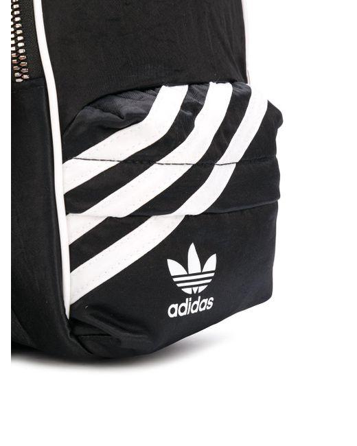 Adidas ロゴ バックパック Black
