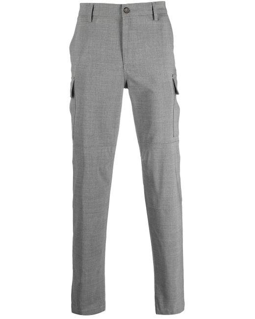 メンズ Eleventy マルチポケット パンツ Gray