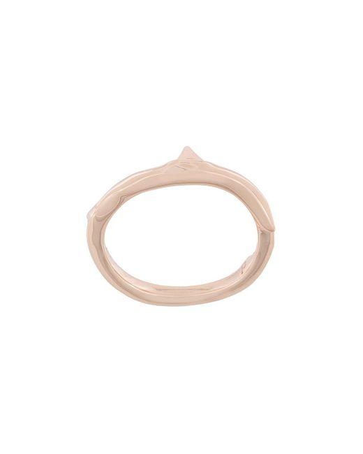 Shaun Leane Rose Thorn-ring in het Metallic voor heren
